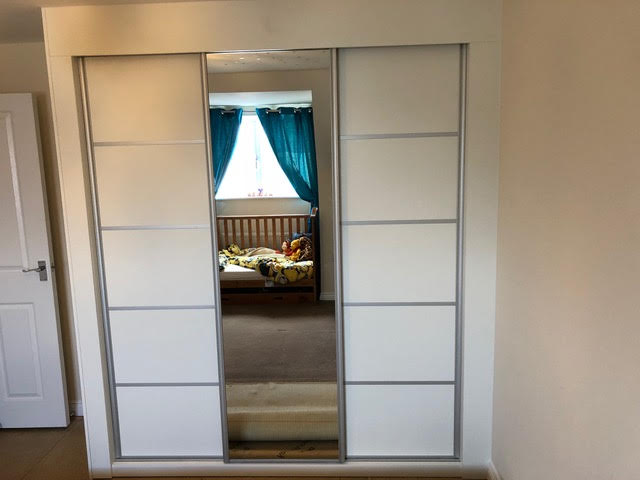Finished Fitted Wardrobe!
