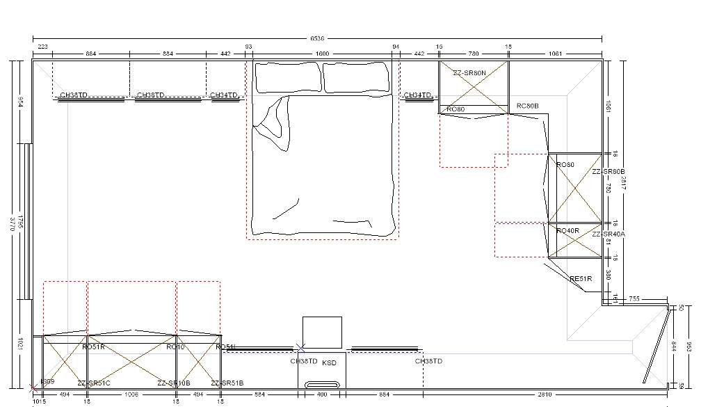 Detailed Measurements - The first stage of the bedroom planning process