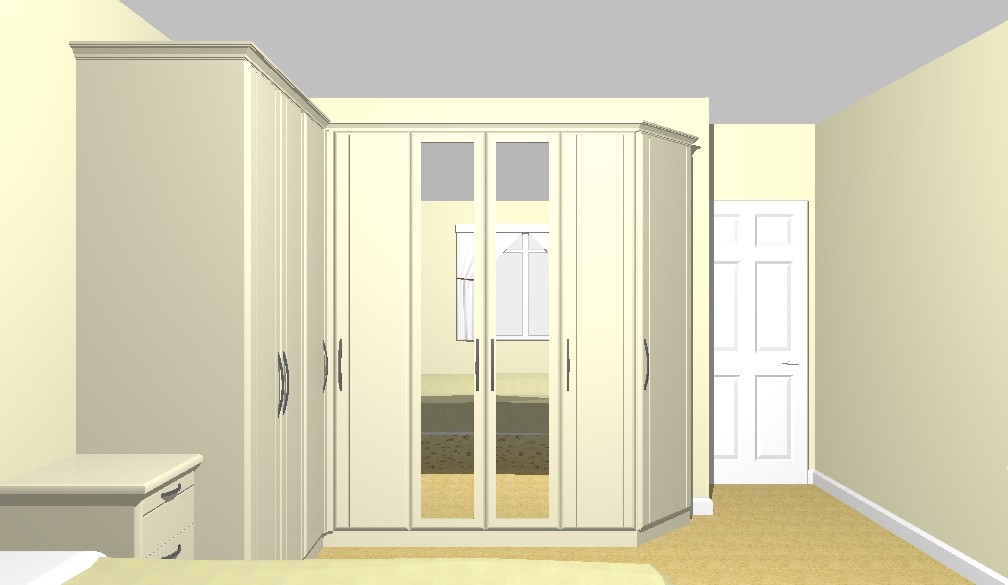 Intermediate Interior Drawings - An important of the bedroom planning process