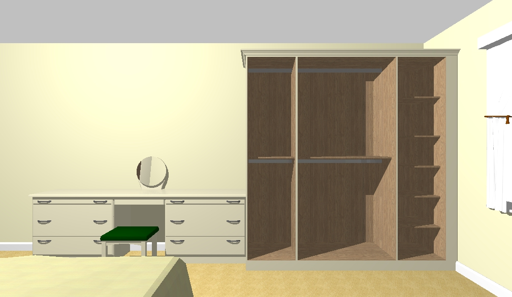Final Approved Drawing for Bedroom Design