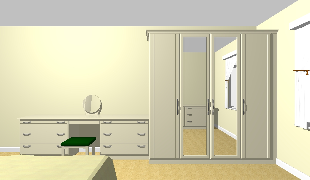 Final Approved Drawing (with doors on) for the Bedroom Design