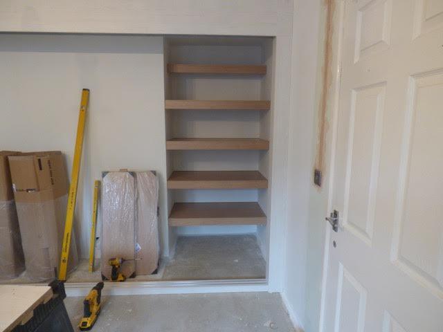 Fix internal shelves