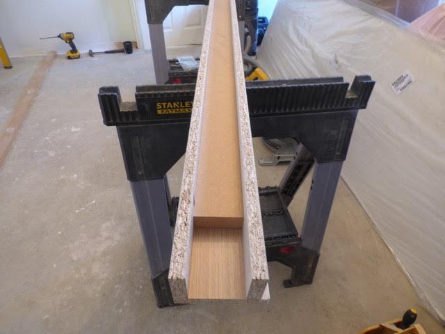 Fix the back edge of the floor rail